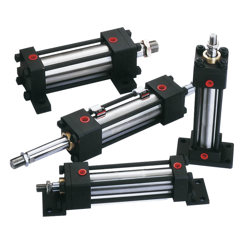 Hydraulic with piston sensing cylinder