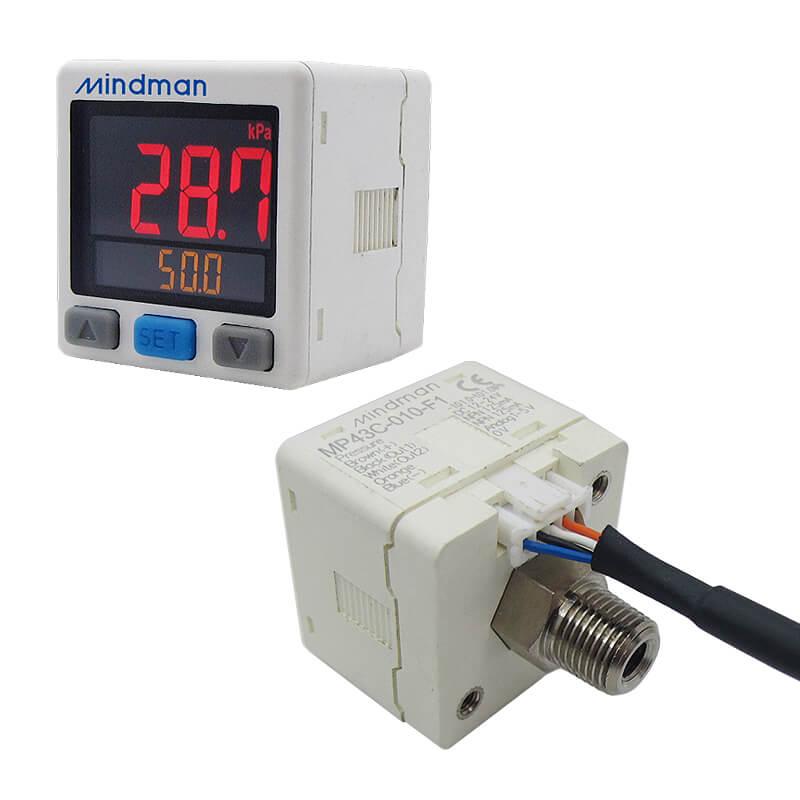 High precision digital pressure switch