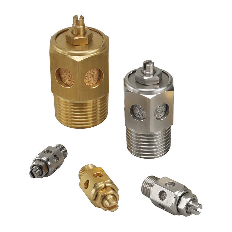 Silencer throttle valve