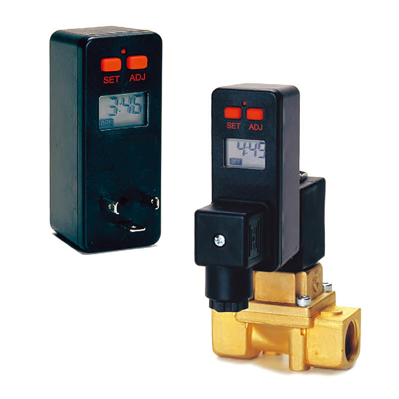Digital condenstion removal timer